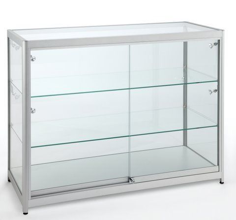 Full Glass Counter 1200Wx900Hx500D