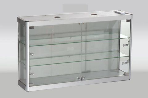 Glass Wall Showcase 800Wx600Hx200D