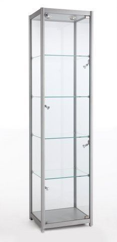Glass Tower Showcase 600Wx1980Hx400D