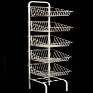5 Tier Basket Stand