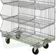 Large Stacking Baskets - With Wheels