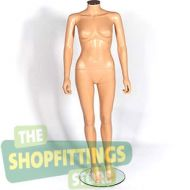 Female Fleshtone Headless Mannequin