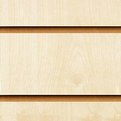 Maple Slatwall Panel 1200 x 1200