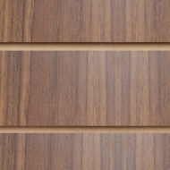 Walnut Slatwall Panels 2400 x 1200