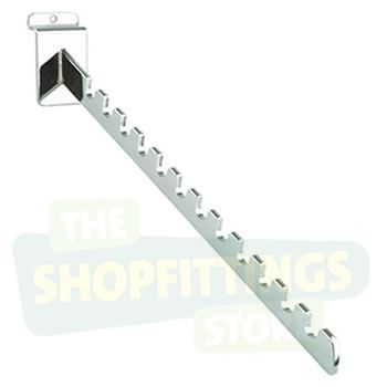 12 Notch Sloping Arm for Slatwall